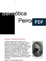 semiótica peirceana