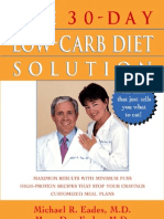 The 30-Day Low-Carb Diet Solution