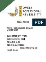 Binary Linked List