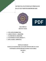 Laporan Praktikum Anatomi Dan Fisiologi Reproduksi