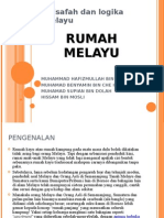 Falsafah di sebalik Rumah Melayu