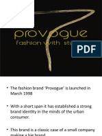 Provogue and Idea