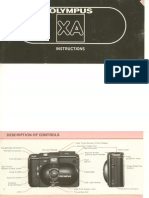 Olympus XA - 35mm Camera