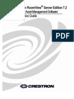 Crestron - Room-Server - Installation Guide
