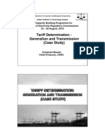 4 - Kulmani Biswal - Tariff Detrmination Generation and Transmission (Case Study)