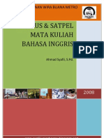 Silabus Satpel of English for Midwifery 1