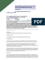 Ley de Zonas Francas ales y de Comercializacion