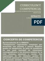 Curriculum y Competencia Estracto
