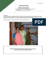 Newsletter Jan-Mar 2011