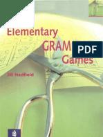 Elementary Grammar Games
