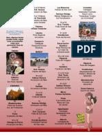 Calendario de Ferias y Fiestas Tradicionales en Nuevo León