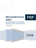 Modul MS.Excel 2007