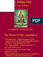 The Ribhu Gita Ppt
