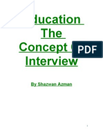 Teacher the Concept of Interview