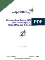 OOo Linux Odbc Mysql Fr