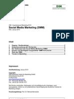 Deutsches Institut für Marketing - Studie Social Media Marketing (SMM)