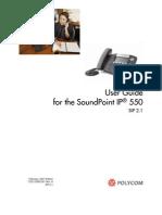 polycomip550