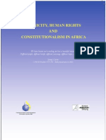Ethnicity, Human Rights n Constitutional Ism ICJ