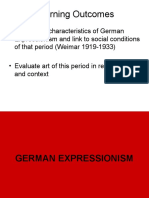Weimar and Expressionism