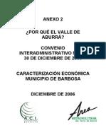 Caracterizacion economica Barbosa