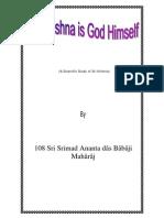 Sri Krishna is God Himself