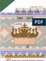 Lampung Dalam Angka 2005