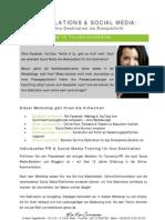 Social Media & PR-Workshop für Tourismusverbände