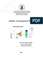 Aulas práticas análise instrumental