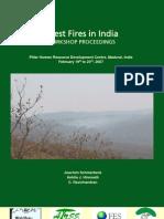Fire Workshop Poceedings in India