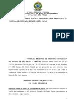 Mandado de Segurança CRMV-SP contra lei Feliciano