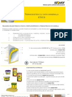 Termosistem Cu Vata Minerala Bazaltica Isover