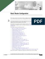 Basic Router Configuration