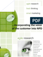 Workshop - Incorporating the Voice of the Customer Into NPD Presented by Paul Sutherland