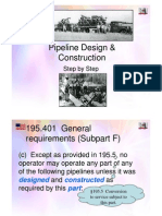 Pipeline Design Construction