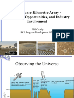 Presentation -Telescopes - The Square Kilometre Array - Phil Crosby