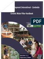 Ceramic Water Filter Manual