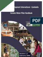Ceramic Water Filter Manual
