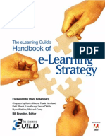The eLearning Guild's Handbook of e-Learning Strategy