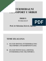 Inter Modal Transport in Serbia
