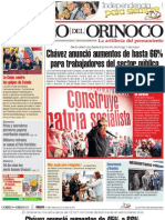 Correo del Orinoco, miércoles 27 de abril de 2011