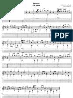 Bach Menuet 1