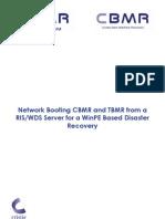 Cbmr Dr Ris-wds Network Boot Setup