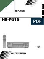 Jvc Hr-p41a Manual 17002
