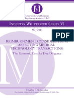 Reimbursement Considerations Affecting Medical Technology Transactions_May2011