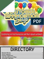 2011 Customer Appreciation Tab