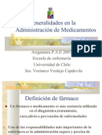 General Ida Des en La Admin is Trac Ion de Medicamentos-2007