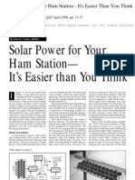 Solar Powered HAM Station