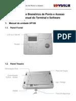Manual UP100 Fingerprint