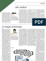 Ignacio Sotelo El Declive Del Poder Sindical