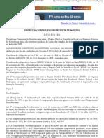 Instrução Normativa INSS 050-2011